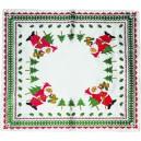 Ubrus vánoční tištěný  85x85cm