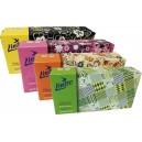 Kapesníky v krabiččce LINTEO Satin 100ks, 8594008876337