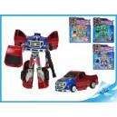 Robot/auto 15cm 2v1 4barvy na kartě, 8592117701540